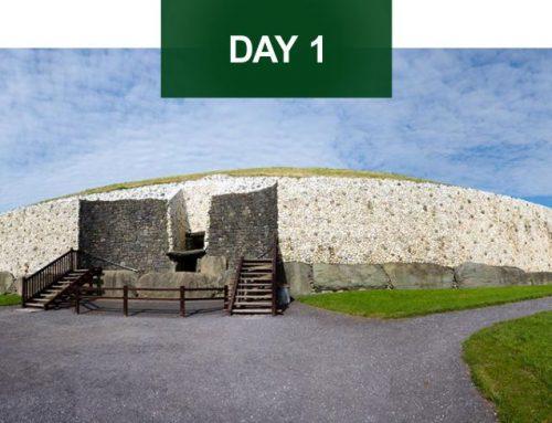 Newgrange · Belfast · Carrickfergus