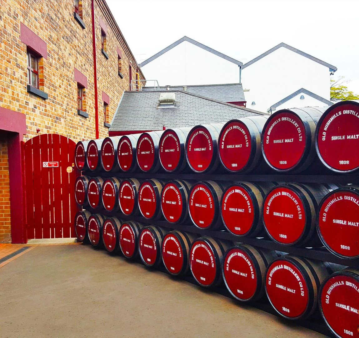 Old Bushmills Whiskey Distillery tour