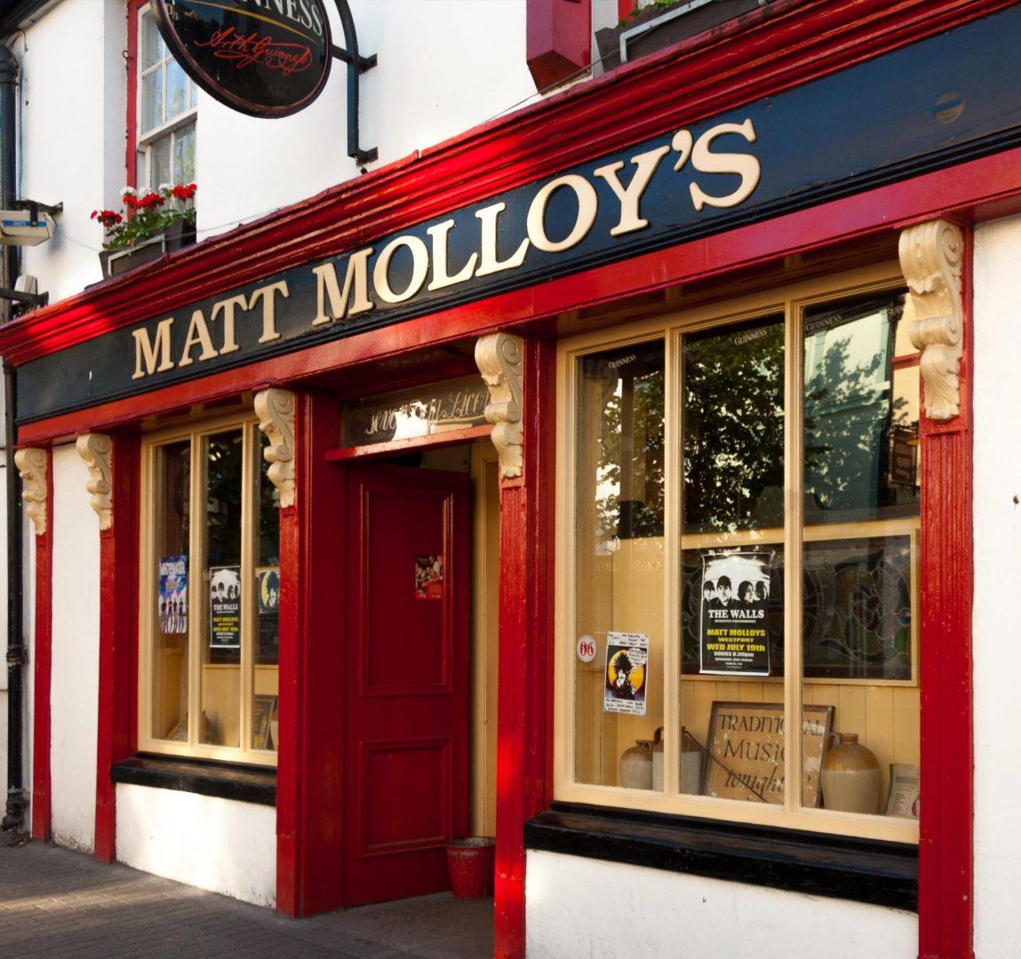 Matt Molloys Pub Westport