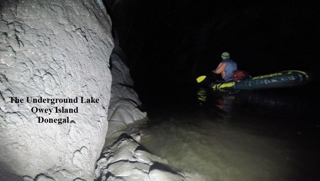 underground lake owey island